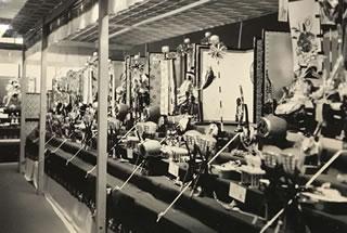 昭和時代の店内風景