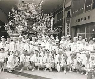昭和30年代の時の山笠の写真