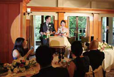 結婚式(おひなさま納め)